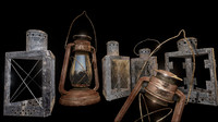 3ds max glass lantern