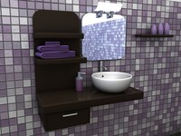 maya bathroom interior