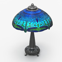 3d tiffany lamp