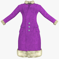 max womens purple coat