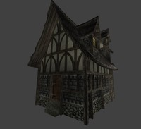 3ds max medieval town