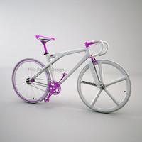 3d alv fixed gear bike