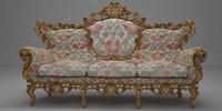 Antique italian sofa