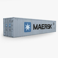 40ft Cargo Container Maersk