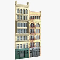 new york city building 3d model