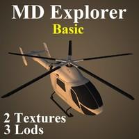 md basic 3d model