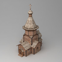 orthodox church 3d max