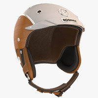 3d model of bogner ski helm
