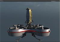 maya hovering radar platform