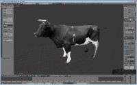 3dsmax cow games