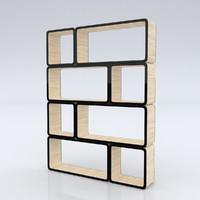 c4d shelf cubic