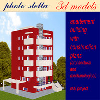 building apartments 1 3d max