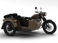 3d model ural m70 2014
