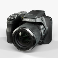 max low-poly fujifilm finepix s8200