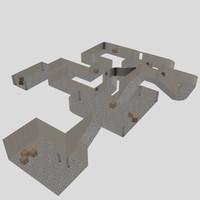 3d level model