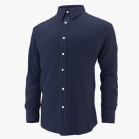 shirt mens cloth 3d model