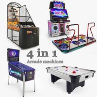 3d arcade machines