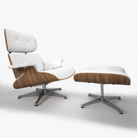 3d model eames lounge chair 5
