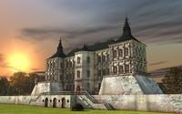 castle 3d fbx