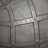 Metal plates #07 Texture