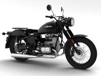 ural m70 solo 2014 3d model