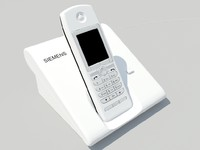 3d model siemens telephone