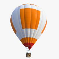 3d obj air baloon