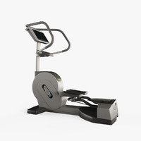 3d model technogym cardio wave