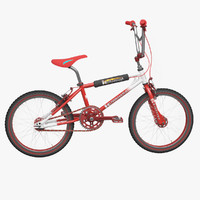 3d kuwahara bmx bicycle