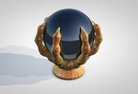 cinema4d black crystal ball