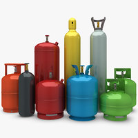 3ds gas cylinder set