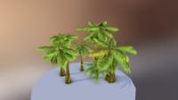 desert tree 3d obj