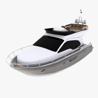 yacht cruise 3d max