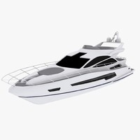 3d 68 sport yacht sunseeker model