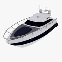 3d simple yacht