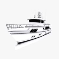 3d boats engines model