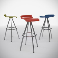 mit barstool designed 3d model