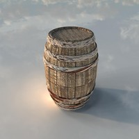 3d bloody barrel