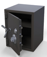 3d model safe box