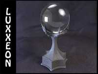 3d warlock crystal ball model