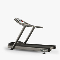 3d model technogym treadmill