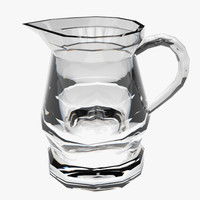 pitcher glass 3d fbx