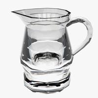 pitcher glass 3d fbx