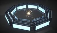 3d quantum core model