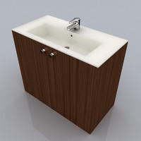 3d model washbowl