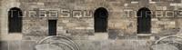 Medieval facade wall