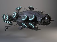 Matrix Howership Movie Spaceship
