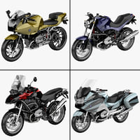 bmw r1200 motorcycle r 3d model