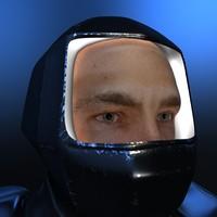 maya male face
