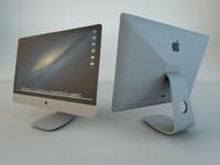 3d apple macpro computer